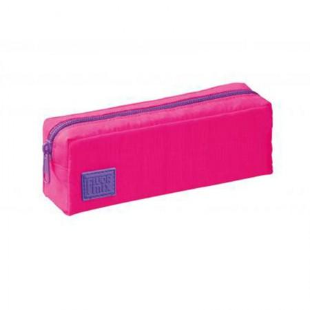 Estojo escolar com ziper - 415764-7 - Fluor Mix Rosa - Foroni