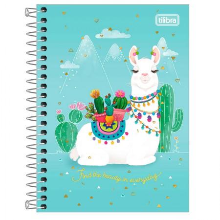 Caderneta espiral capa dura 1/8 - 80 folhas - Hello - Capa 1 - Tilibra