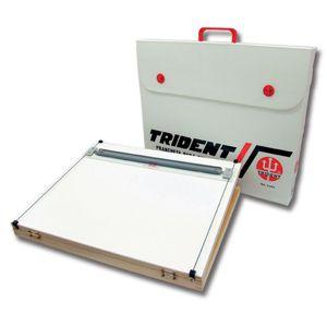 Prancheta portátil A3 com régua paralela 5000 - Trident