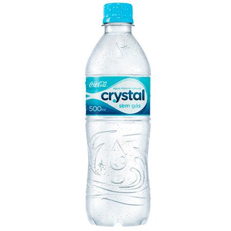 Água mineral Crystal sem gás - pet 500ml