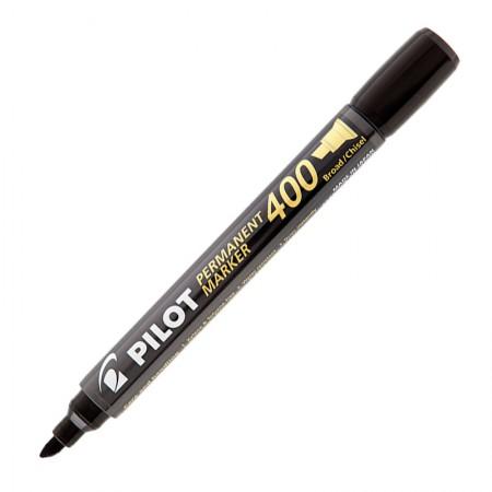 Pincel permanente marker SCA-400 Preto ponta chanfrada - Pilot