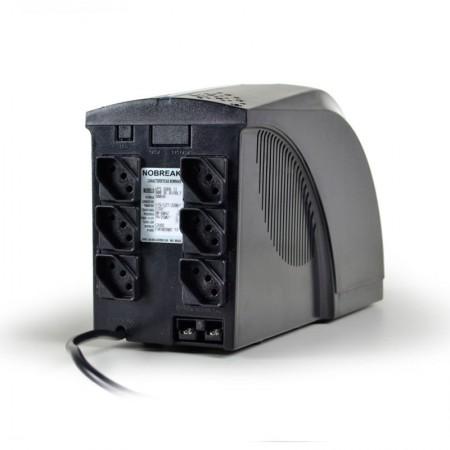 No-Break bivolt automático 800VA - UPS Soho II Universal 4414 - TS Shara