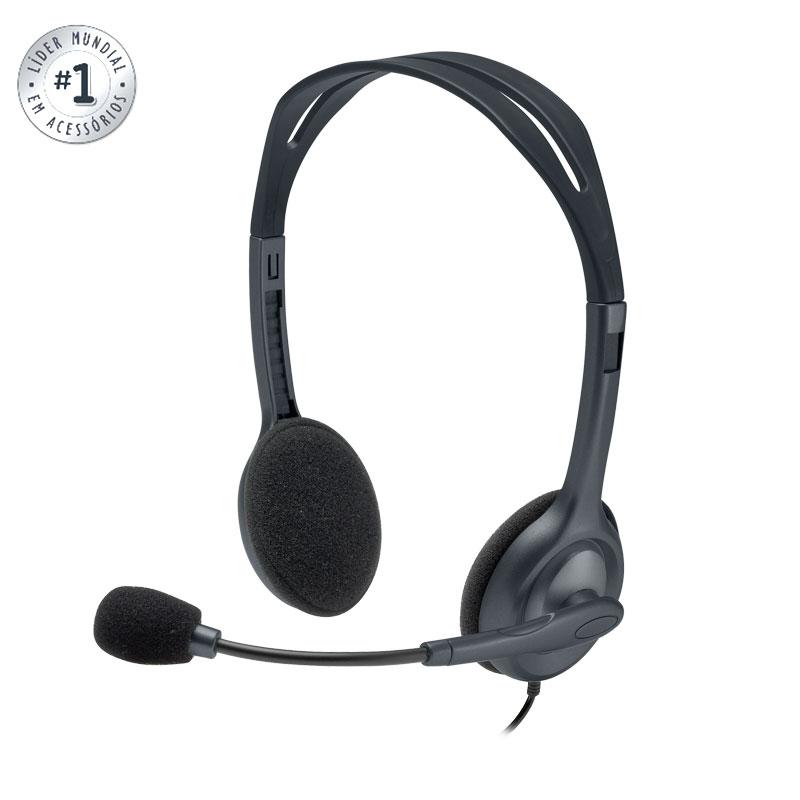 Headset P2 H111 - Logitech