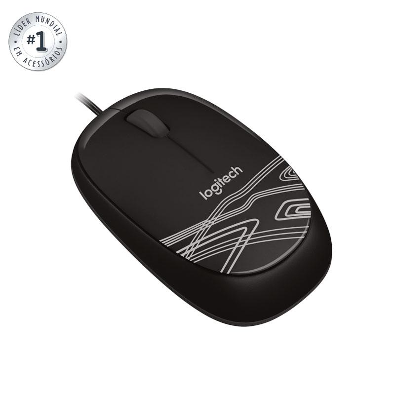 Mouse USB óptico M105 preto - Logitech