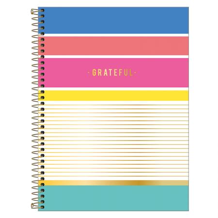 Caderno espiral capa dura universitário 10x1 - 160 folhas - Be Nice - Capa 4 - Tilibra