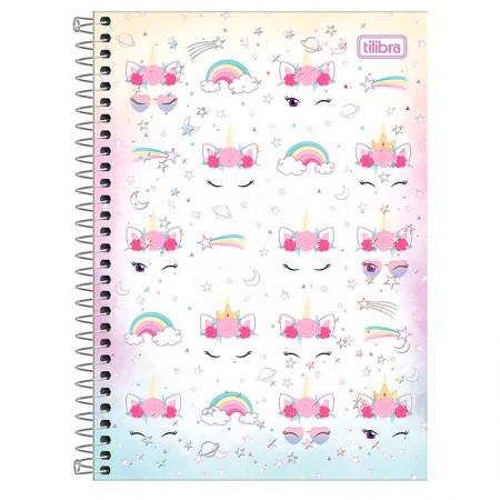 Caderno espiral capa dura 1/4 - 80 folhas - Blink - Capa 2 - Tilibra