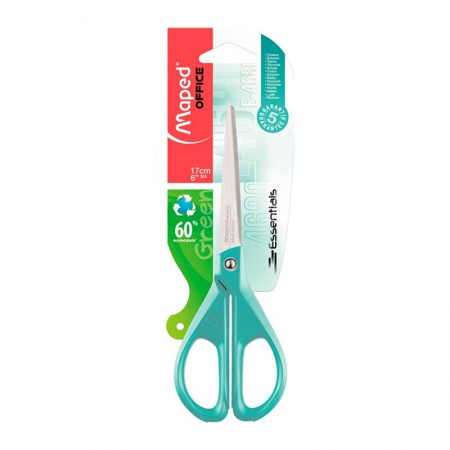 Tesoura Multi-uso essentials green pastel - 468011 - 17 cm - Maped