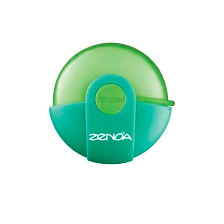 Borracha escolar Zenoa - 11320 - com 1 unidade - Verde - Maped