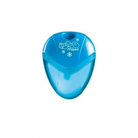 Apontador com coletor I-Gloo 1 furo - 634754 - Azul - Maped
