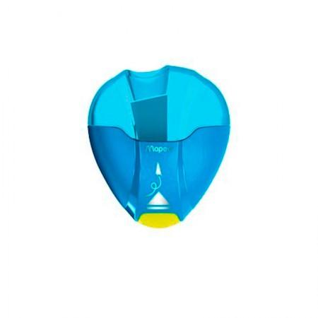 Apontador com coletor I-Gloo Eject 1 furo - 032710 - Azul - Maped