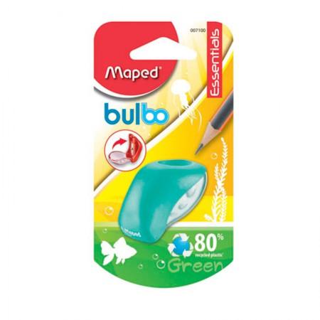 Apontador com coletor Bulbo 1 furo - 7100 - Verde - Maped