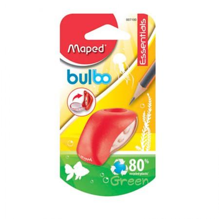 Apontador com coletor Bulbo 1 furo - 7100 - Vermelho - Maped