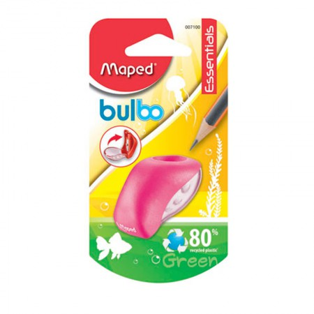 Apontador com coletor Bulbo 1 furo - 7100 - Rosa - Maped