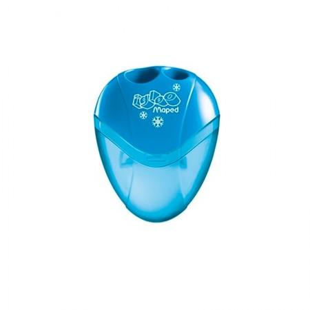 Apontador com coletor I-Gloo 2 furos - 634756 - Azul - Maped