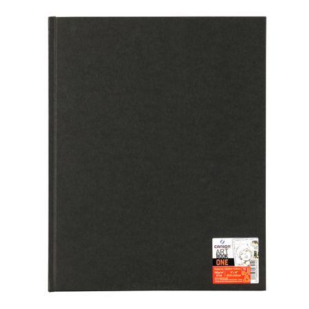 Livro art book croquis one espiral - 27,9 x 35,6 cm - com 80 folhas 100g - Canson