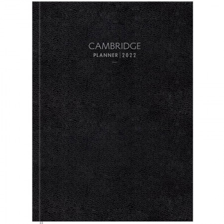 Agenda planner executiva costurada semanal Cambridge Set 2021 - Tilibra