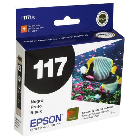 Cartucho Epson (117) T117120 - preto 180 páginas