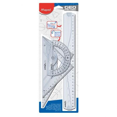 Kit para desenho Graphic - 242767 - 4 peças - Maped