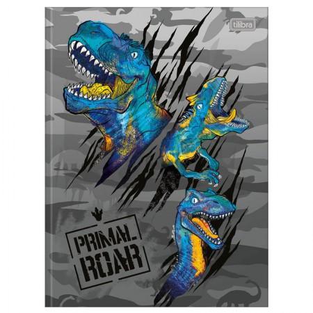 Caderno brochurão capa dura universitário 1x1 - 80 folhas - Raptor - Capa 3 - Tilibra