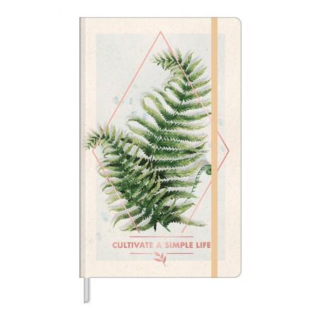 Caderno costurado grande Fitto Naturalis - sem pauta - 80 folhas - Capa 3 - Tilibra