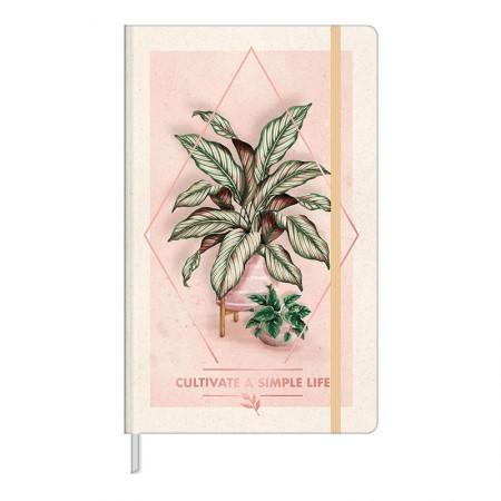 Caderno costurado grande Fitto Naturalis - sem pauta - 80 folhas - Capa 4 - Tilibra