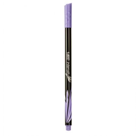 Caneta hidrográfica u/fina Intensity 04mm lilás pastel Bic