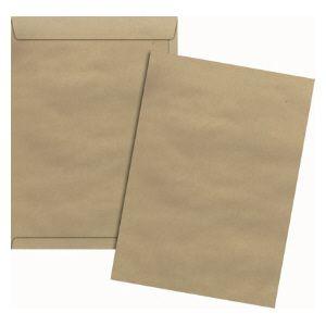 Envelope saco kraft SKN132 229x324mm blister 10und Scrity