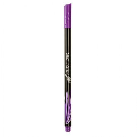 Caneta hidrográfica ultra fina Intensity 0.4mm - violeta pastel - Bic