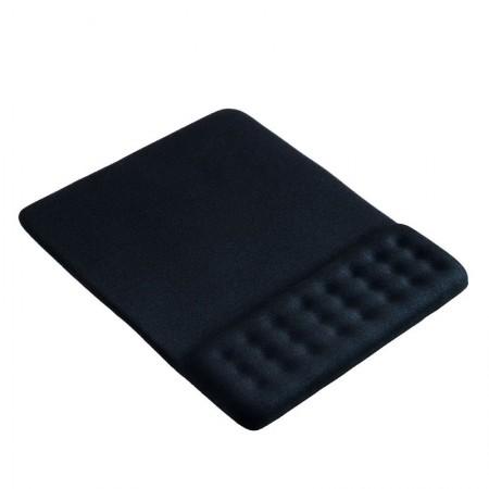 Mouse pad com apoio em gel preto dot AC365 - Multilaser