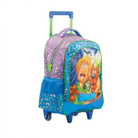 Mochila escolar com roda - 7150/19 - Scooby Doo Ghosts 16 - Xeryus