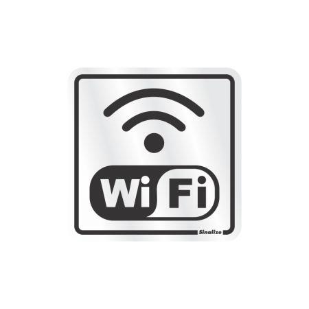 Placa de alumínio wifi 120BC - Sinalize