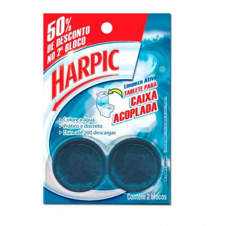 Harpic para caixa acoplada Brisa Marinha 50grs - com 2 unidades - Reckitt