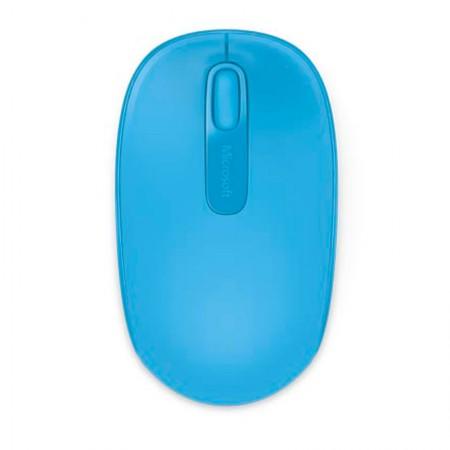 Mouse sem fio óptico U7Z-00055 azul claro - Wireless Mobile 1850 - MIcrosoft