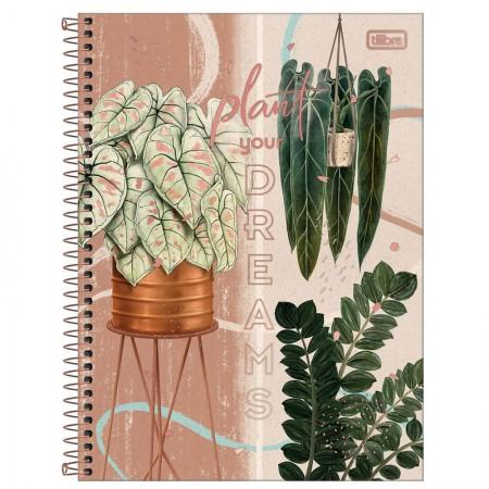 Caderno espiral capa dura universitário 10x1 - 160 folhas - Naturalis - Capa 4 - Tilibra