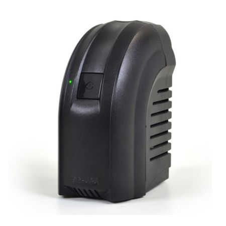 Estabilizador bivolt 300VA preto - Powerest 9001 - 4 tomadas - Ts Shara