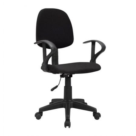Cadeira start giratória preta GA209 - Multilaser