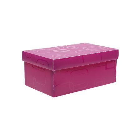Caixa organizadora mini sapato - rosa pink - 2169.Q - Dello