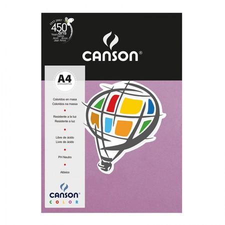 Papel Color Vivaldi A4 180g violeta - com 10 folhas - Canson