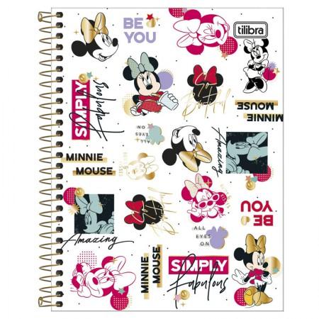 Caderno colegial capa dura 10x1 - 160 folhas - Minnie - Capa 1 - Tilibra