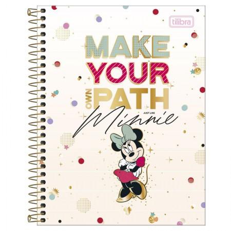 Caderno colegial capa dura 10x1 - 160 folhas - Minnie - Capa 2 - Tilibra