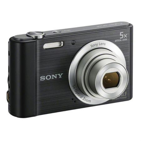 Câmera digital Cyber-Shot preta 20.1MP DSC-W800 - Sony