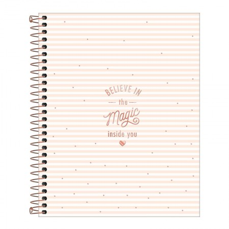 Caderno colegial capa dura 10x1 - 160 folhas - Soho - 4 - Tilibra