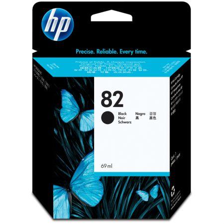 Cartucho HP Original (82) CH565A - preto rendimento 1.430 páginas