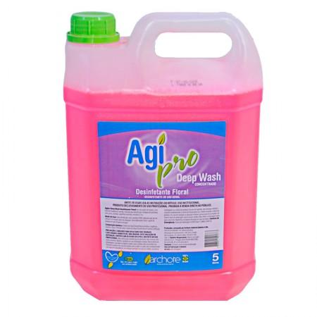 Desinfetante Deep Wash Agipro - Floral - com 5 litros - Archote