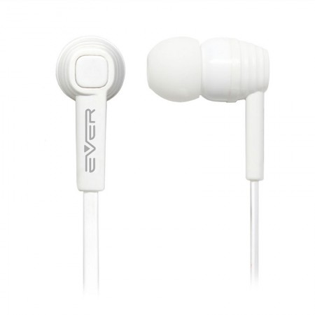 Fone de ouvido com microfone Light EVEP02M/WT - Branco - Evertech