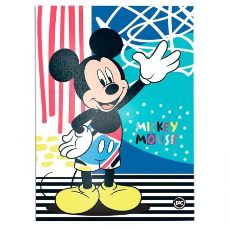 Pasta catálogo sem visor - 2830 - Mickey - com 10 envelopes plásticos - Dac