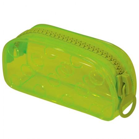 Estojo escolar com ziper - E191 - Bubble - Verde - Dac