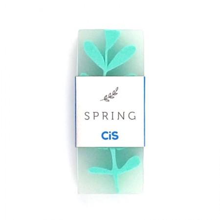 Borracha escolar Spring - 588000 - Verde Pastel - Cis