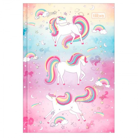 Caderneta capa dura 1/8 Blink - Pautado - 80 folhas - Capa 4 - Tilibra