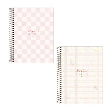 Caderno de receita espiral - Soho - 80 folhas - Tilibra